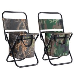 Portable Folding Camping Chair Bag Lightweight Backpack Outd