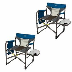 Timber Ridge Portable Folding Camping Directors Chair with S