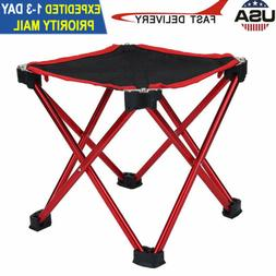 Portable Folding Chairs Stool Outdoor Mini Camping Fishing P