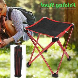Portable Folding Stool Camping Chair Outdoor Hiking Fishing