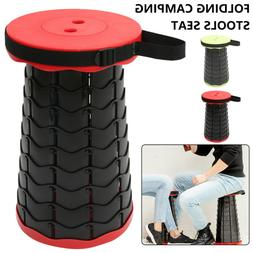 Portable Folding Stool Collapsible Telescopic Seat Outdoor C
