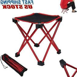 Portable Folding Stool Outdoor Tripod Seat Triangle Chair Ca
