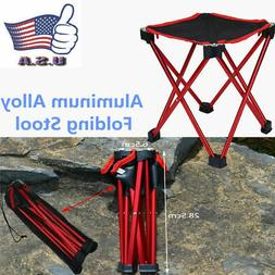 Portable Folding Stools Outdoor Camping Fishing Picnic Beach