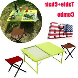 Portable Folding Table Indoor Outdoor BBQ Picnic Party Campi