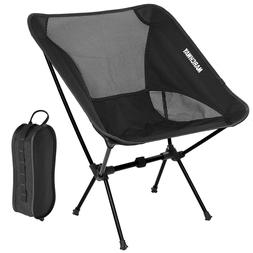 MARCHWAY Portable Folding Ultralight Compact Camping Chair w