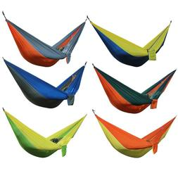 Portable Hammock 2 Person Outdoor <font><b>Camping</b></font