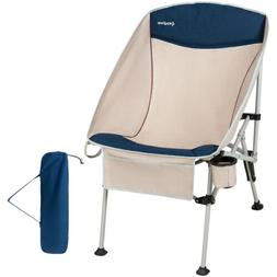portable heavy duty folding deluxe camping chair