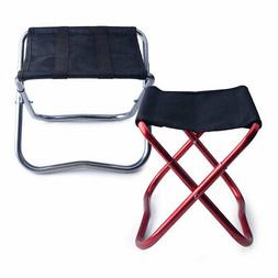 Portable Outdoor Folding Seat Chair Stool Fishing Camping BB
