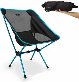 Portable Ultralight Folding Chair, Compact Backpack Camping