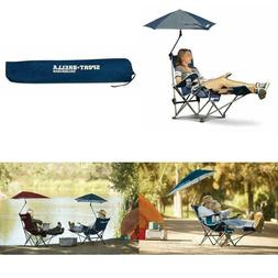 Recliner Chair with Removable Umbrella Footrest 3 Position O