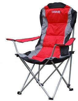 Gigatent Red Steel Folding Camping Chair