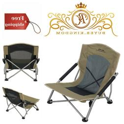 Rendezvous Folding Camping Campfire Chair Sturdy Powder Coat