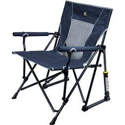 GCI Outdoor Roadtrip Rocker Outdoor Rocking Chair, Midnight