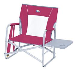 GCI Outdoor Waterside Slim-Fold Backpack Beach Chair with Si