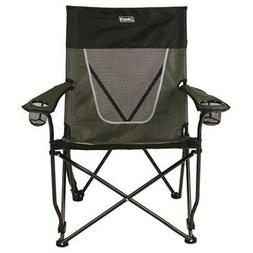 Coleman Steel Deck Chair Ultimate Comfort Sling Wide Outdoor