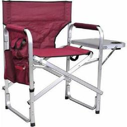 Oversized Folding Directors Chair Portable Camping Outdoor F