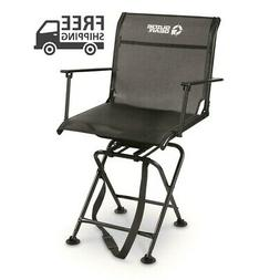 GUIDE GEAR Swivel Hunting Blind Chair 360 w/ Armrests 500 lb