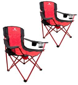 Tailgate Quad Folding Chair Camping Chair Set 2Pack Camp Pat