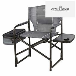 Timber Ridge Laurel Director's Chair with Cooler Bag & S