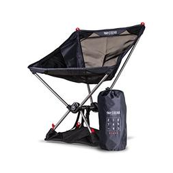 Ultra Lightweight Backpacking & Camping Chair - Weighs 2lbs