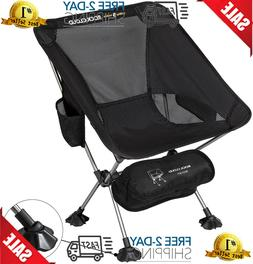 Ultralight Camping Chair Portable Folding Outdoor Hiking Bac