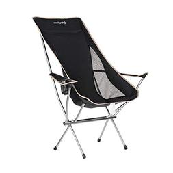 KingCamp Ultralight Compact Strong High Back Folding Chair w