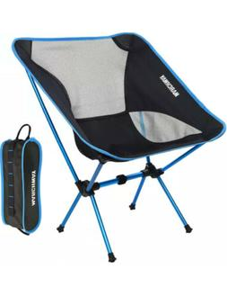 Marchway, Ultralight Folding Camping Chair, Blue