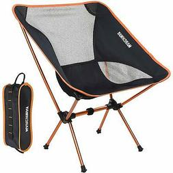 MARCHWAY Ultralight Folding Camping Chair, Portable Compact