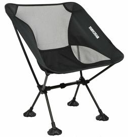 MARCHWAY Ultralight Folding Camping Chair with Large Feet, P