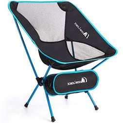 Moon Lence Ultralight Folding Camping Chairs Beach Chairs wi