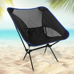 Ultralight Portable Folding Backpack Camping Chair Compact L