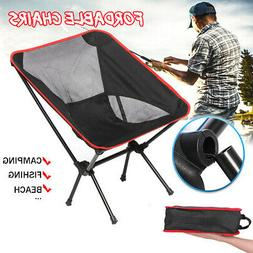 Ultralight Portable Lightweight Folding Camping Chair Backpa