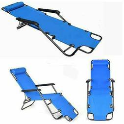 US Outdoor Portable Dual Purposes Patio Lawn Extendable Fold