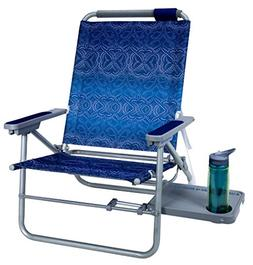 GCI Outdoor Waterside Big Surf Reclining Beach Chair with Si