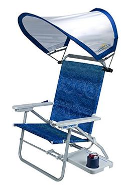 GCI Outdoor Waterside Big Surf Reclining Beach Chair with Ad