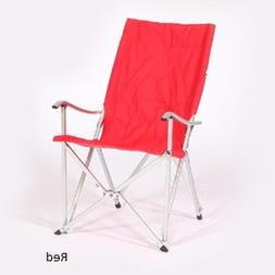 THE WEEKENDER DECK CHAIR.  A folding chair with shoulder car